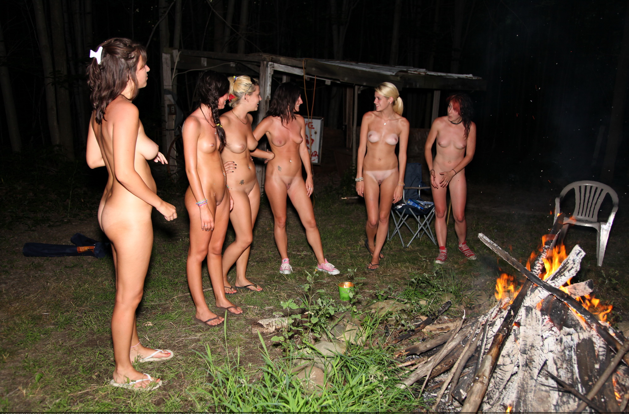 Nudist colony group pics photo