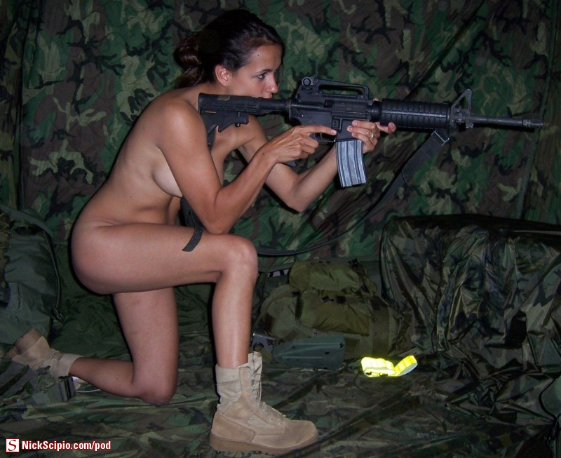Hot military chicks nude something