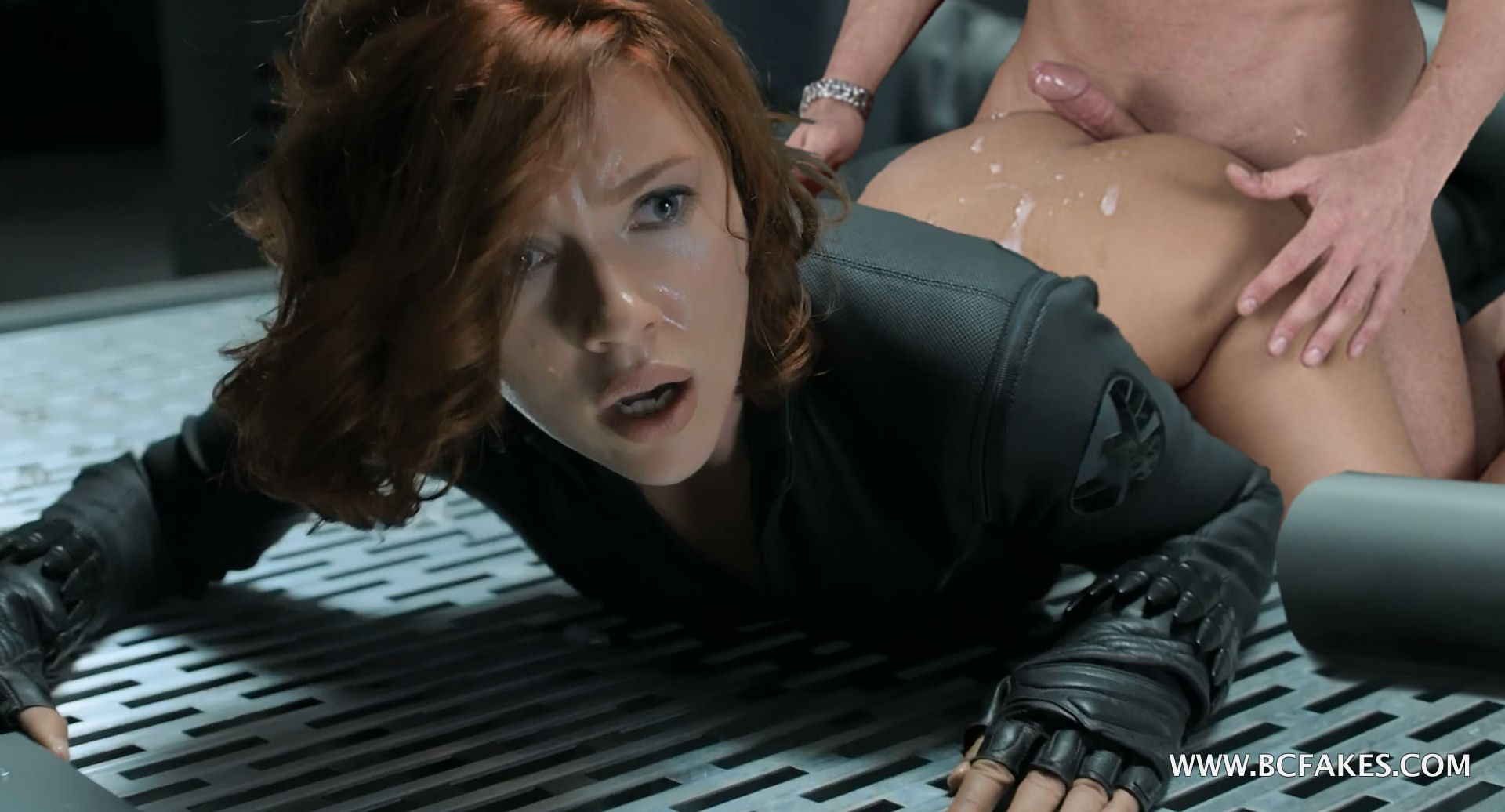 Black scarlett widow marvel johansson