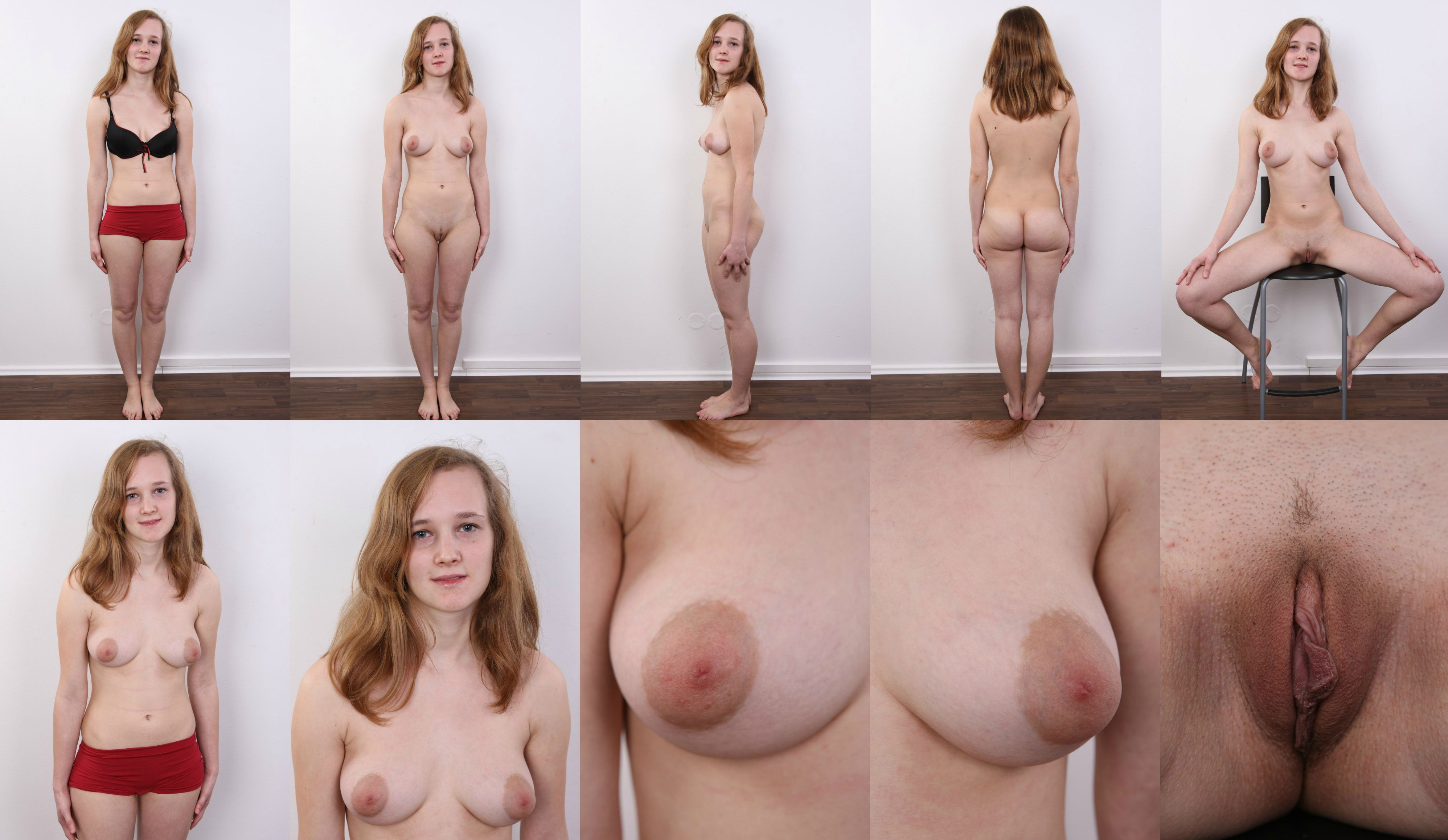 Sexy girls shaved pussy