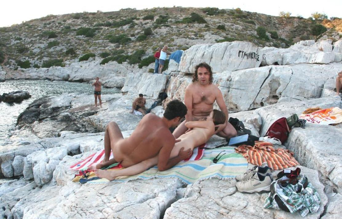 Beach greece nudist