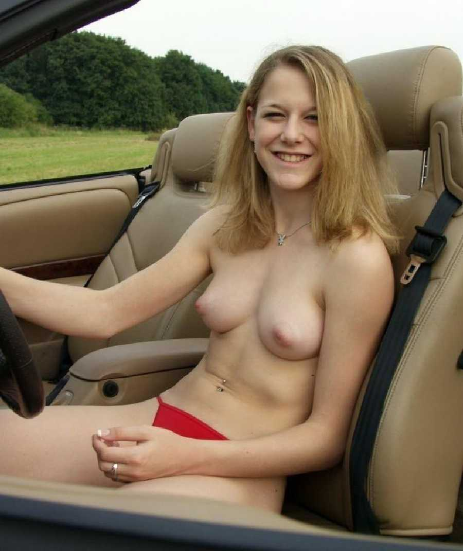 Wife Driving Naked