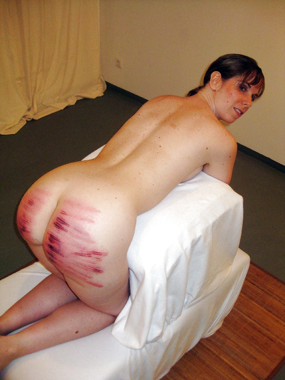 Straight guy full self punishment: fucked, ass to mouth, plug, spank, flog