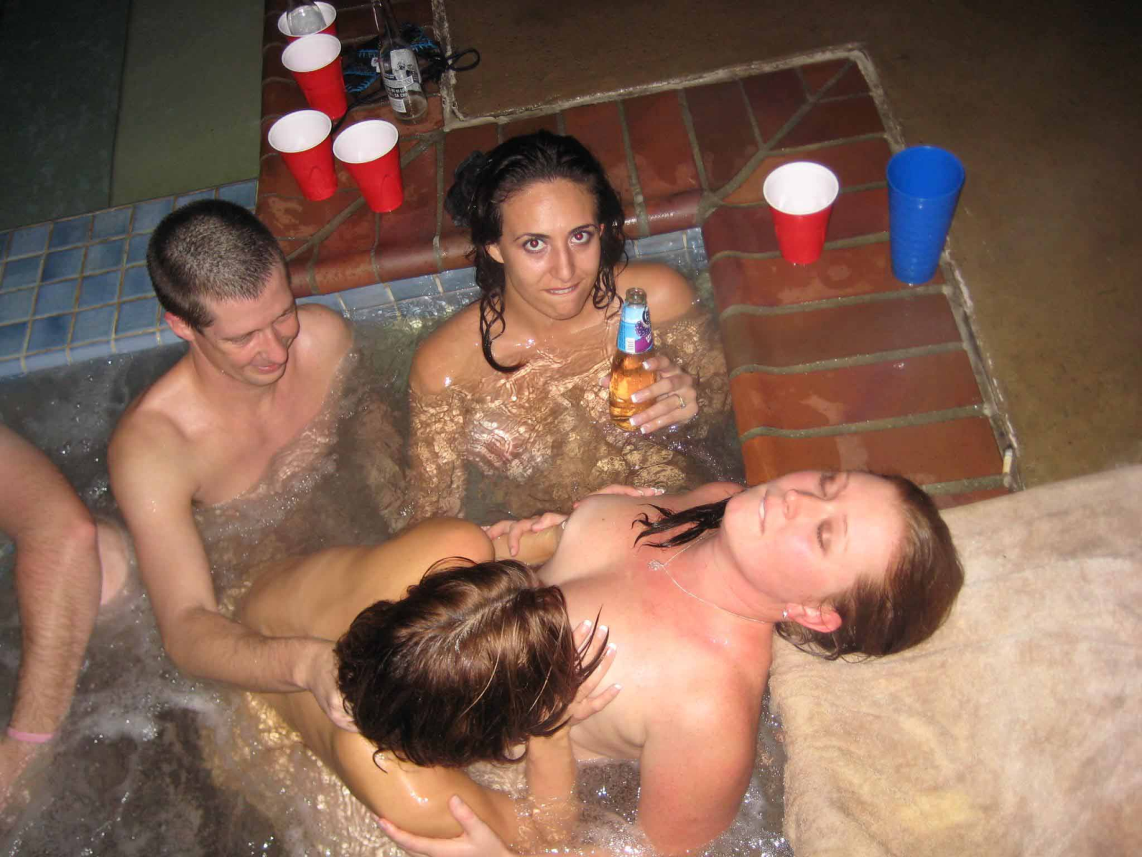 Teen home sex party