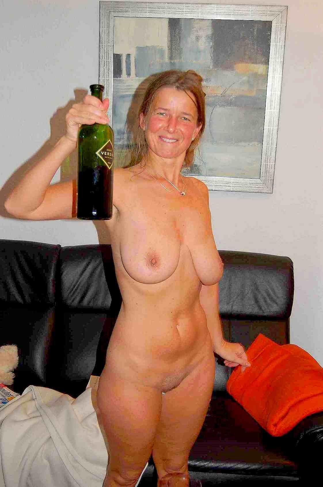 home at Mature nude