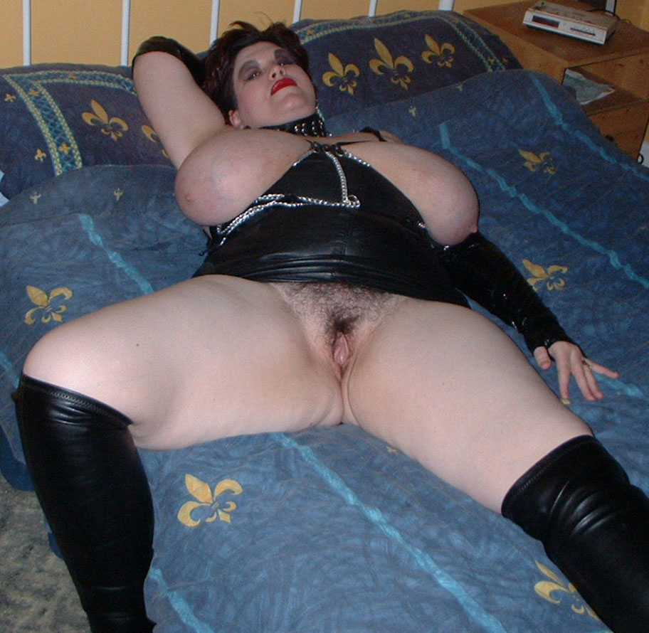 Bbw sex in leather