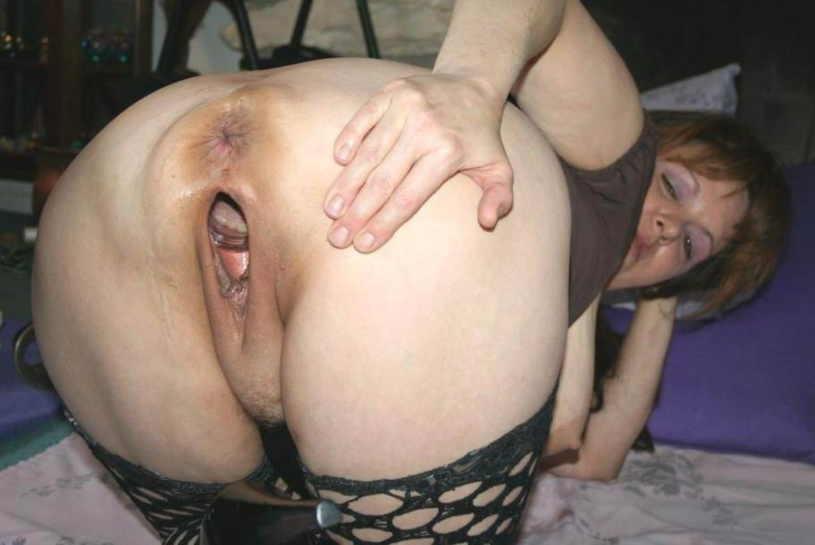 Holes big gaping pussy