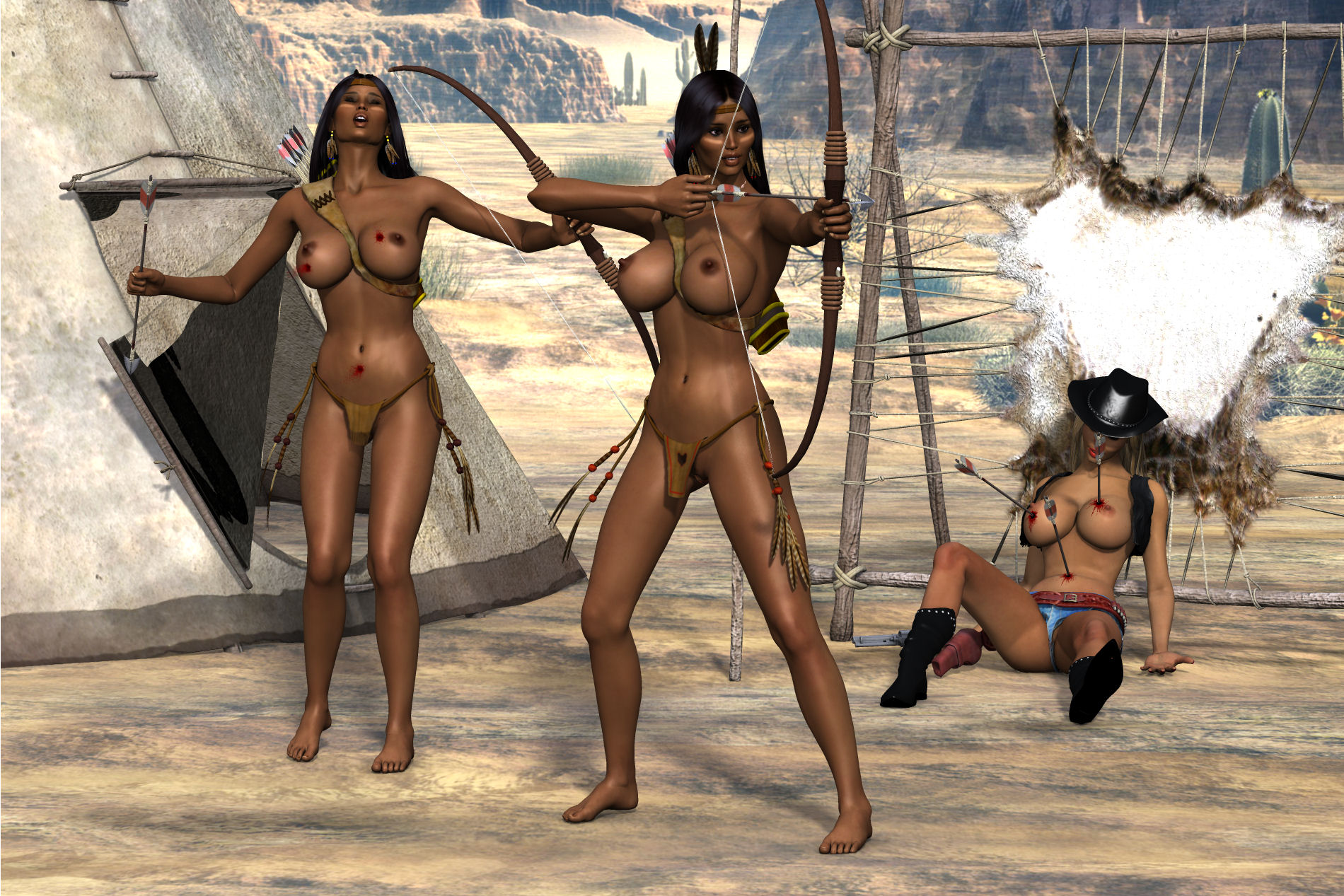 That necessary. Sexy nude female archers