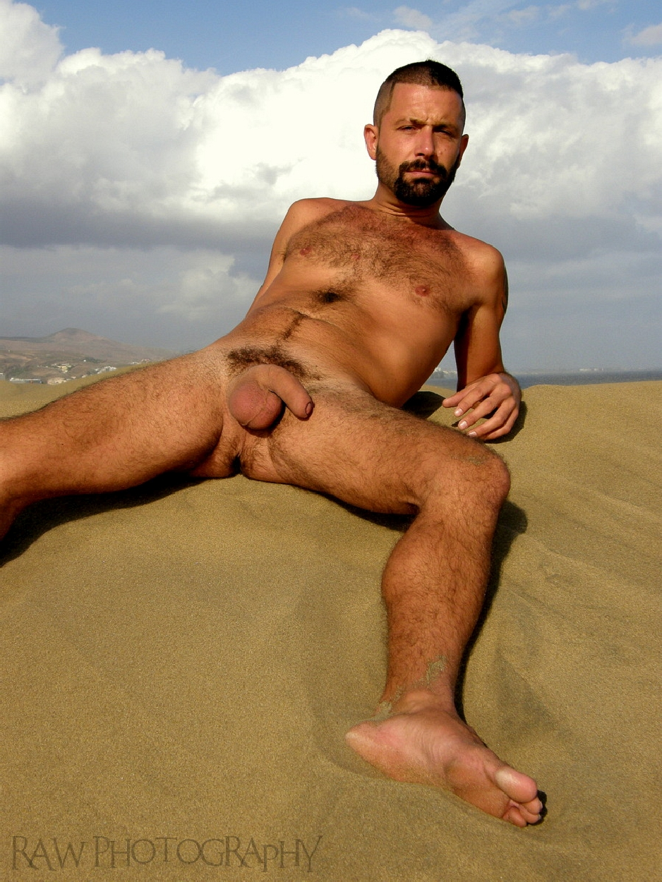 beach Man nude