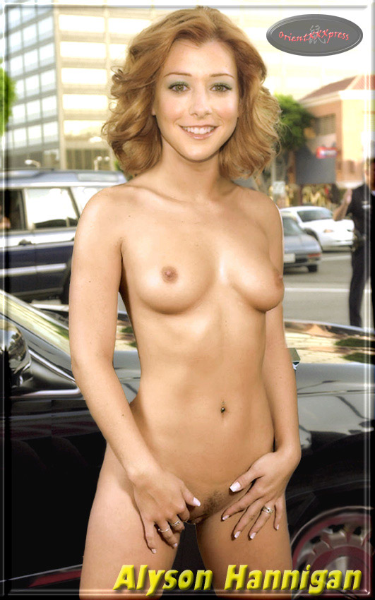 Alyson hannigan nude pregnant photos — pic 2