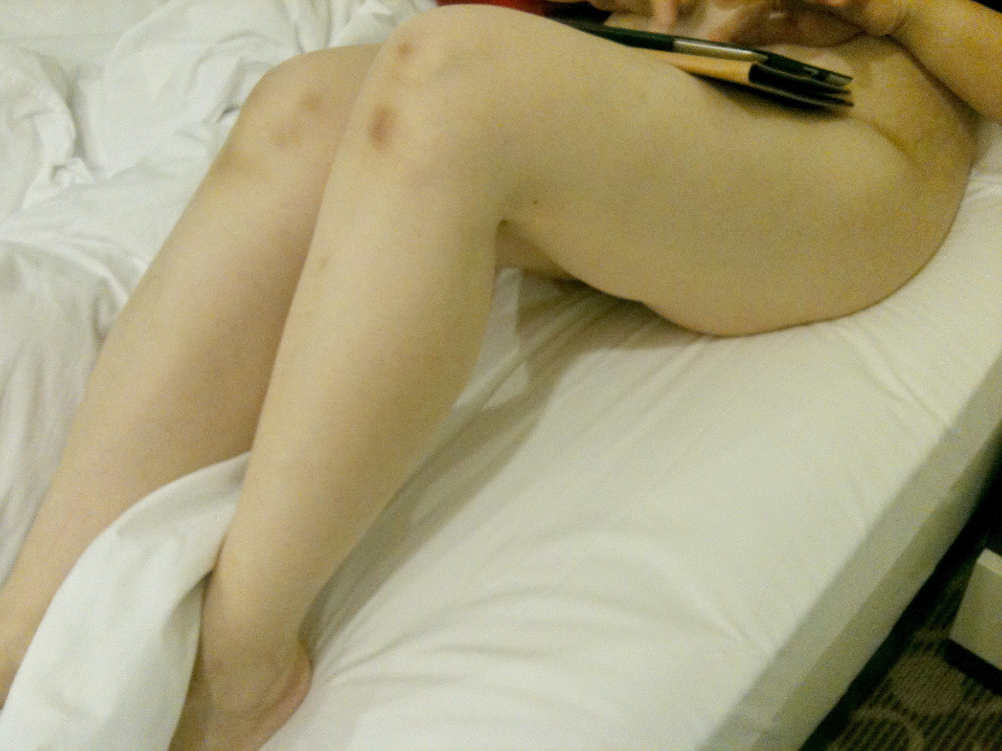 China wife showing her wears