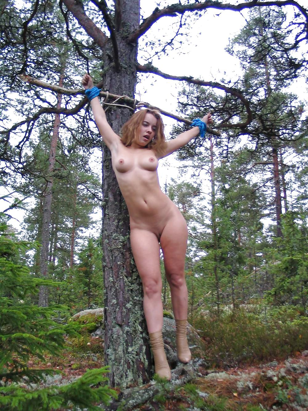 Beach bondage female
