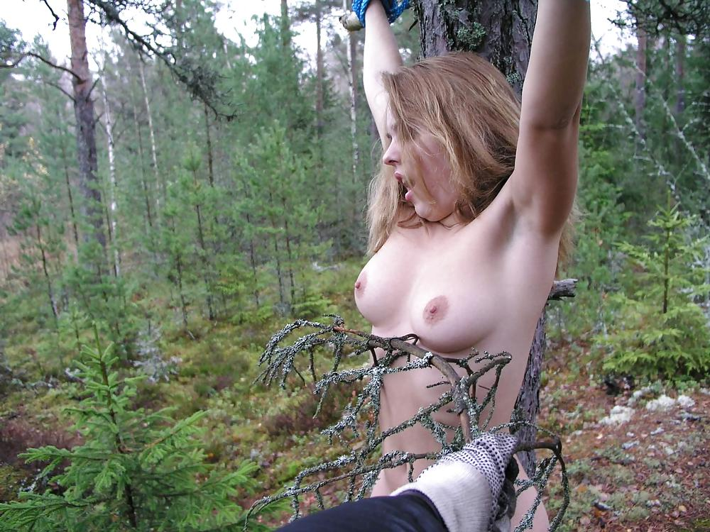 Bondage outdoor