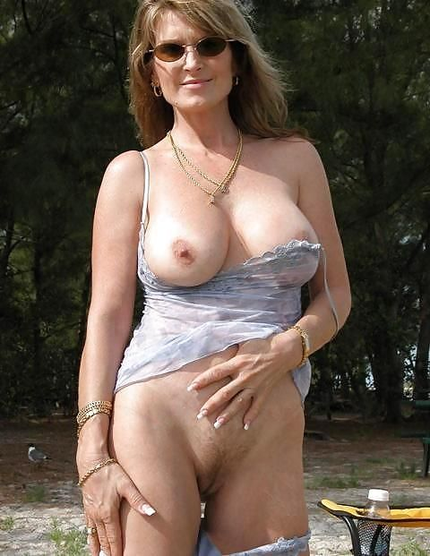 mature tits out