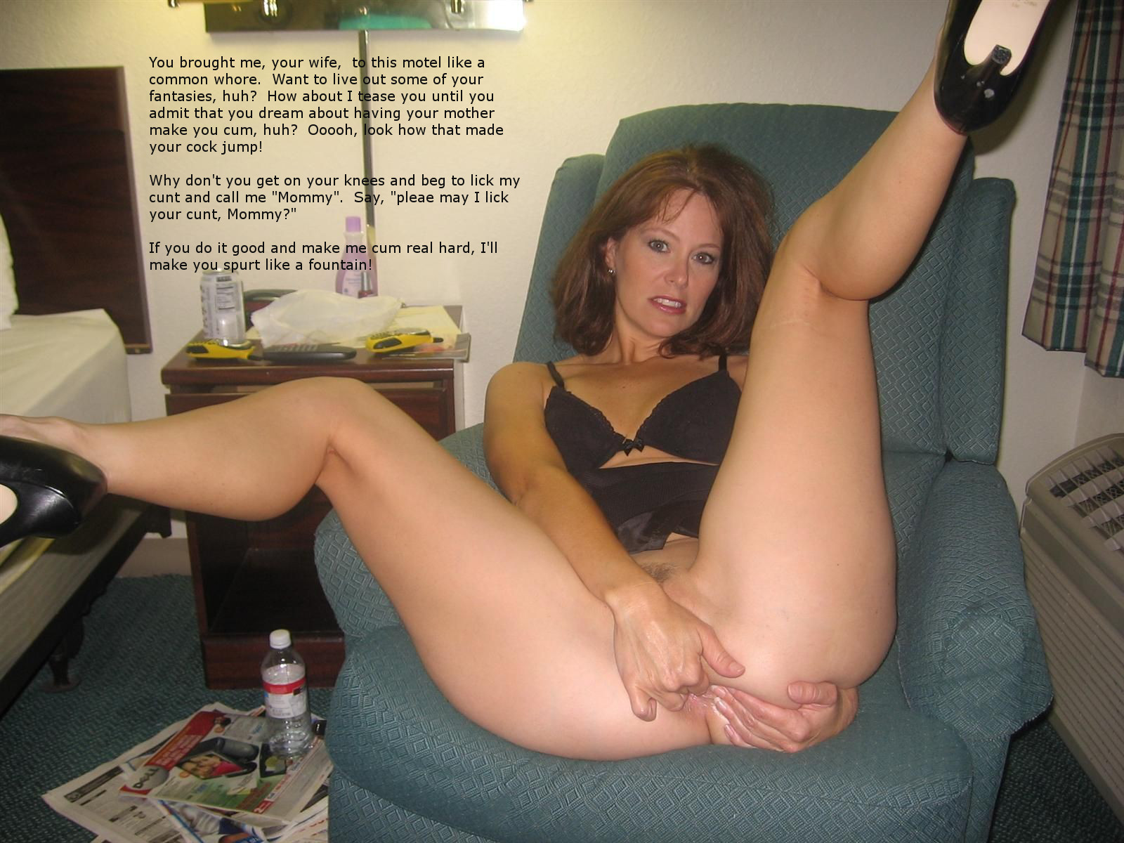 motel trip Moms and Sons Incest