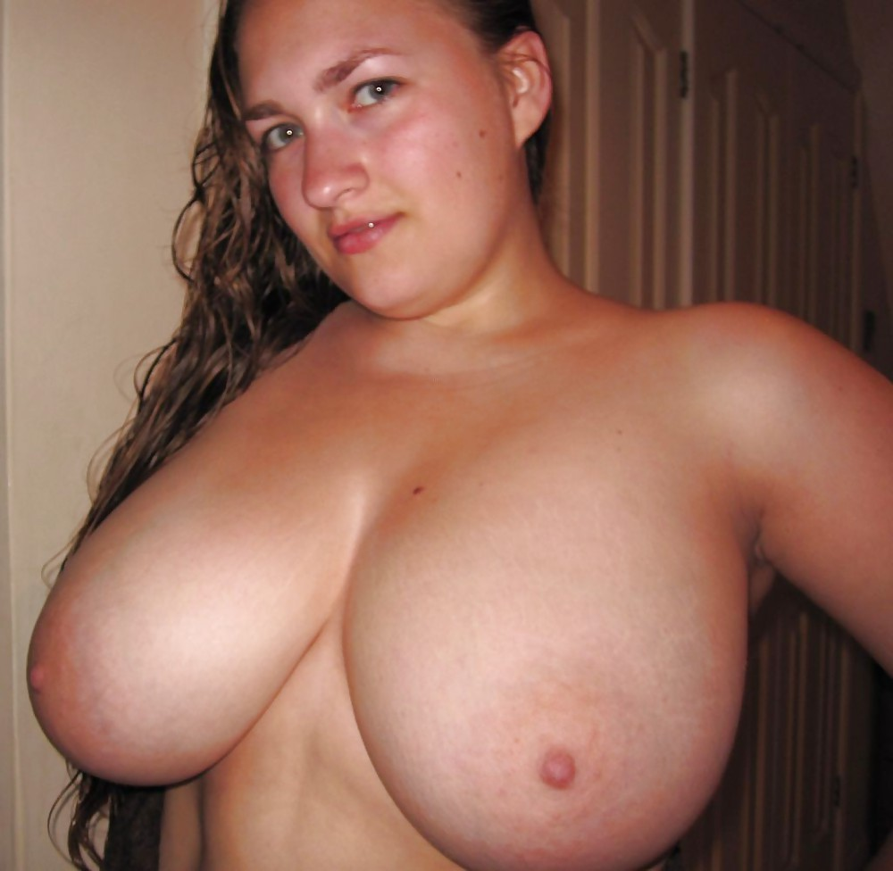 Tits with big nipples saggy small