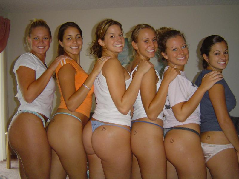 Consider, Group of girls with naked asses