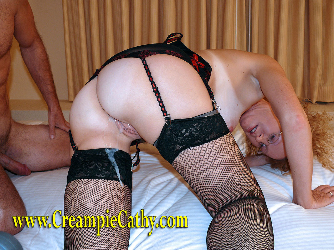 Group sex with creampie cathy