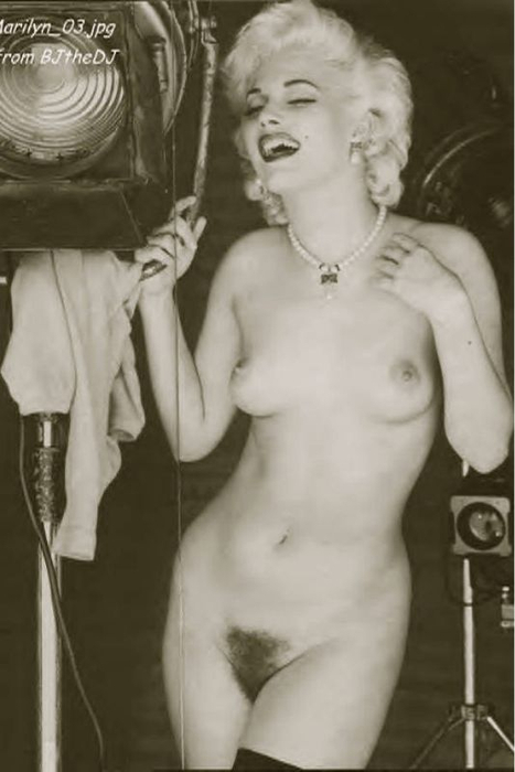 Nude marylyn munroe