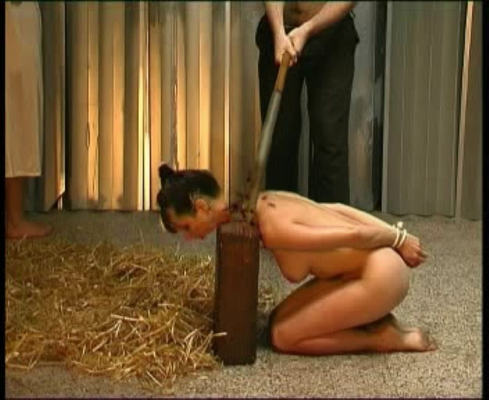 Beheaded naked, erotic babe video