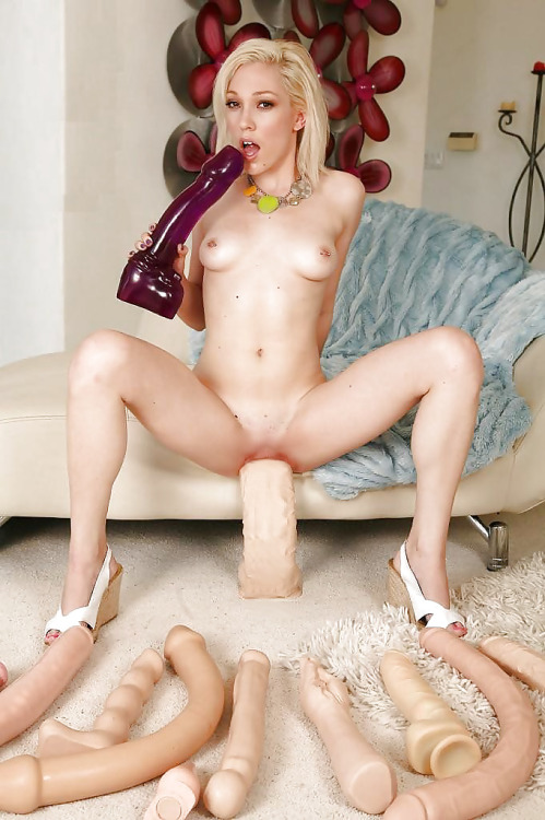 Hot girls nude with bizarre sex toys — photo 4