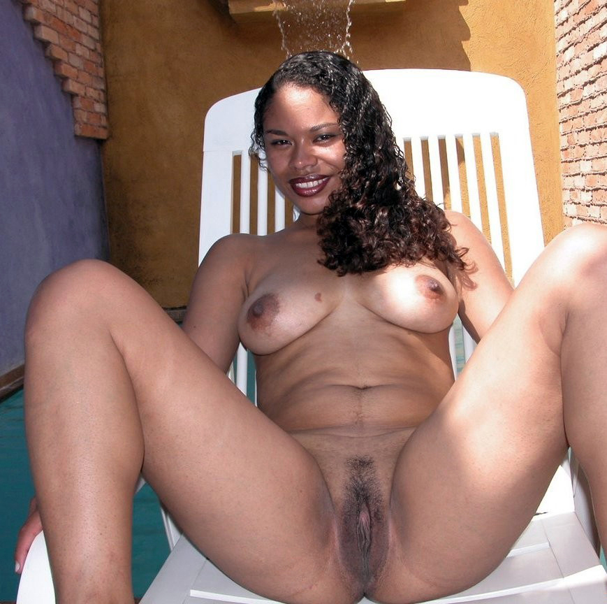 Skinned black girls nude light