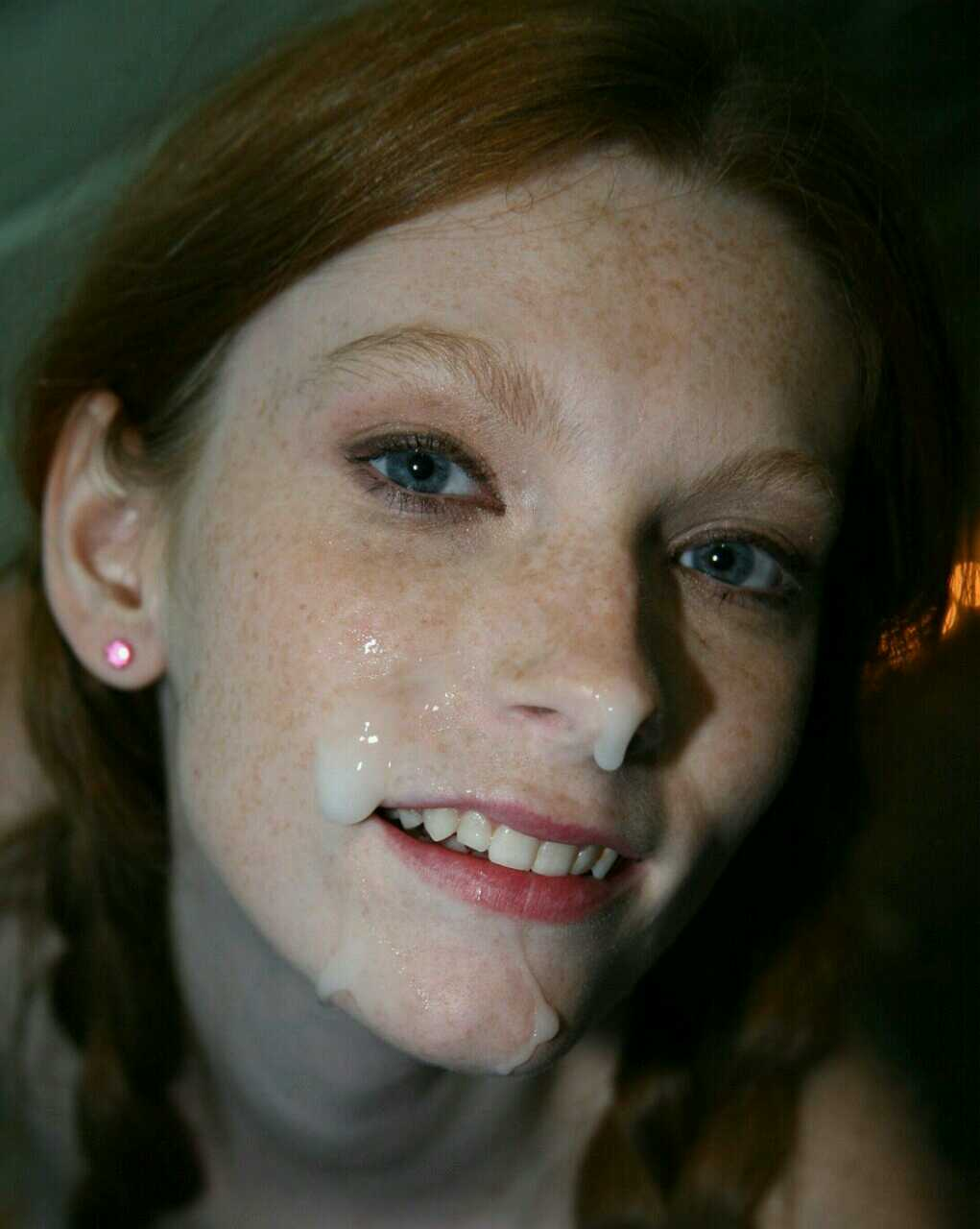Perfect redhead in and girlfriend cum on face most sexy porn