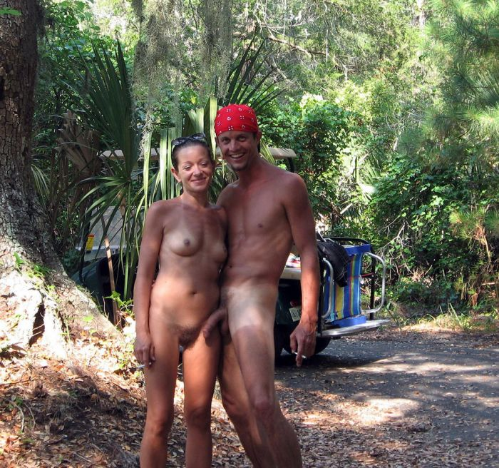 Naturist nudist 1960 family