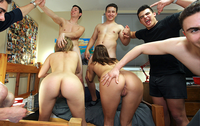 dorm College porn dare