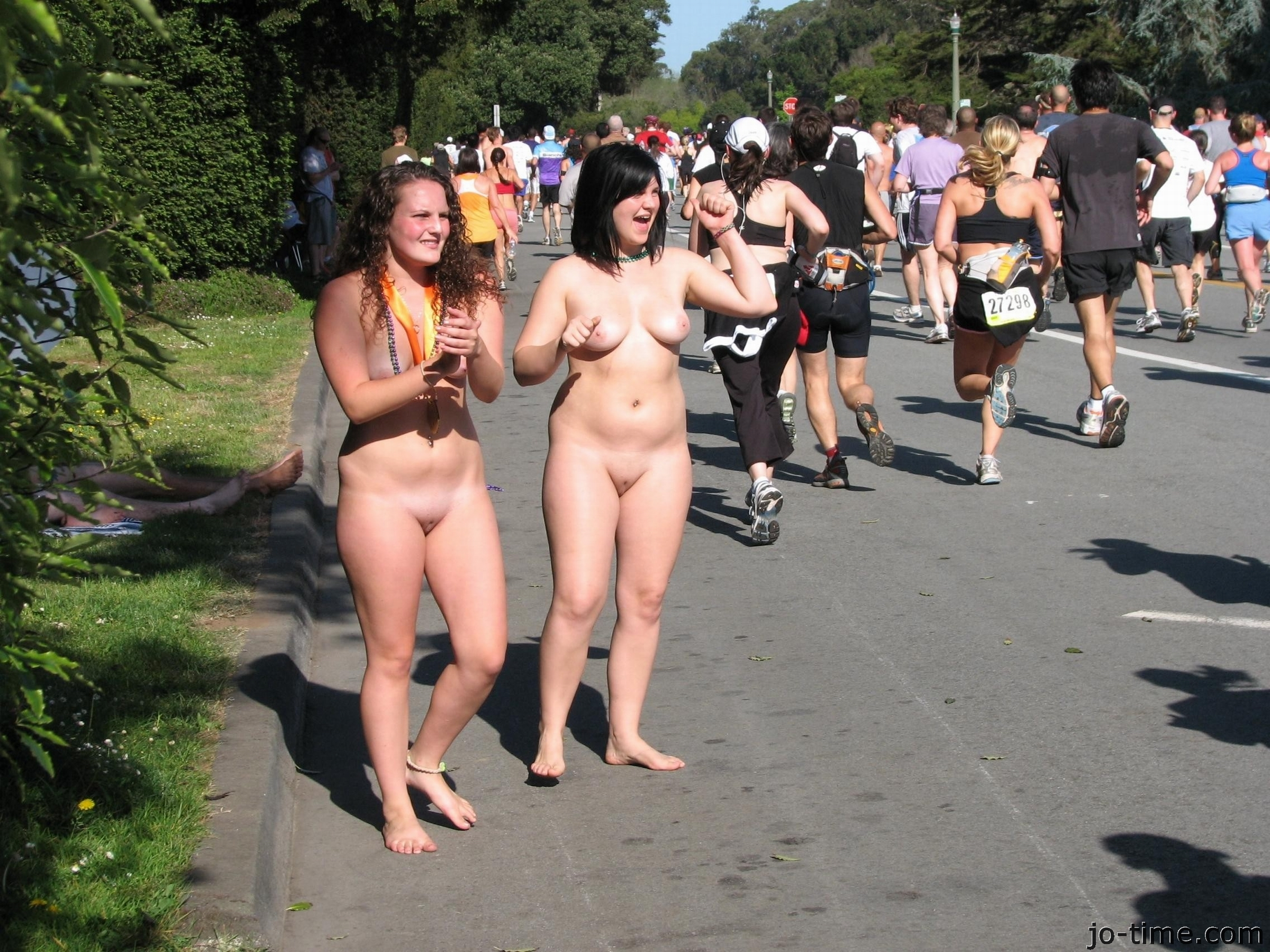 Apologise, but, Candid public nudity