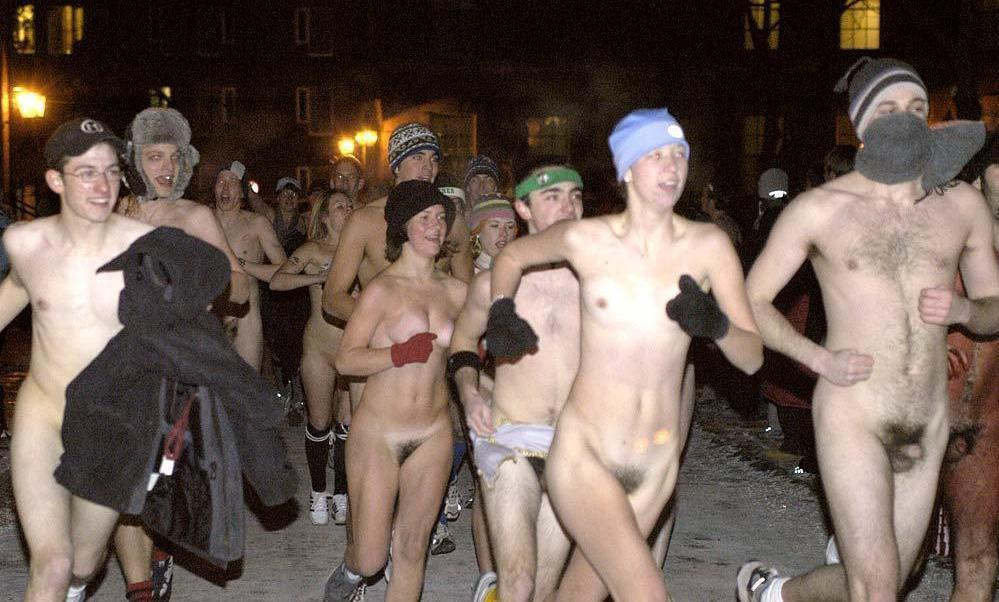 All Tufts student harvard naked mile runners