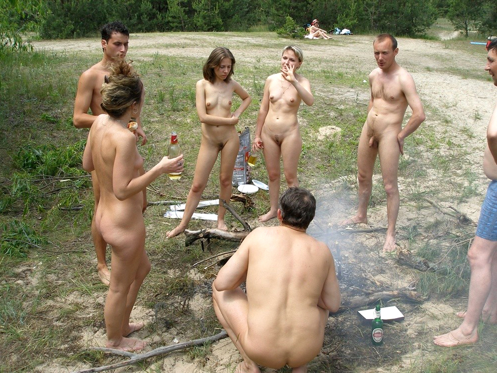 With girls fucked at nudist camps