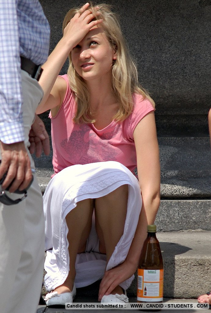 Submitted candid upskirt