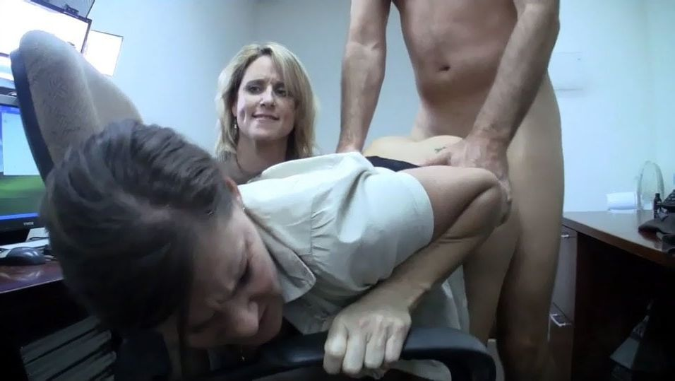 Fucking From Behind In Front Of Mom Aunt