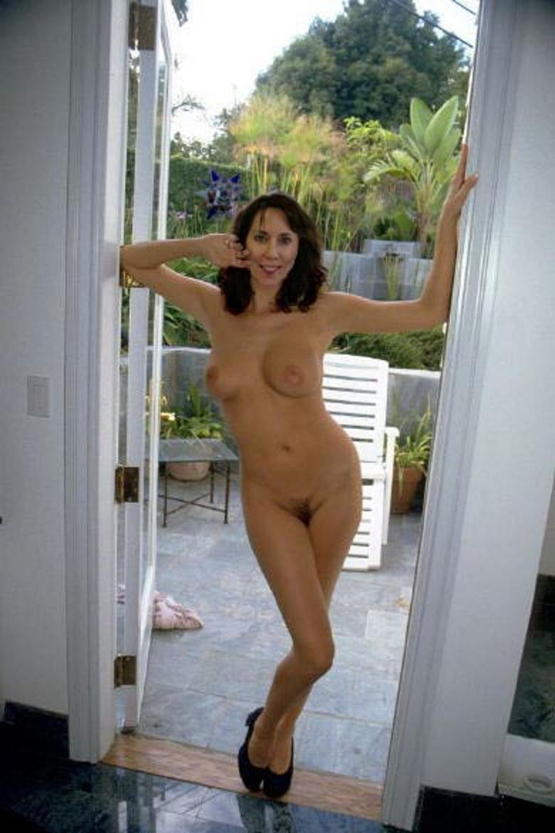 caught naked in room