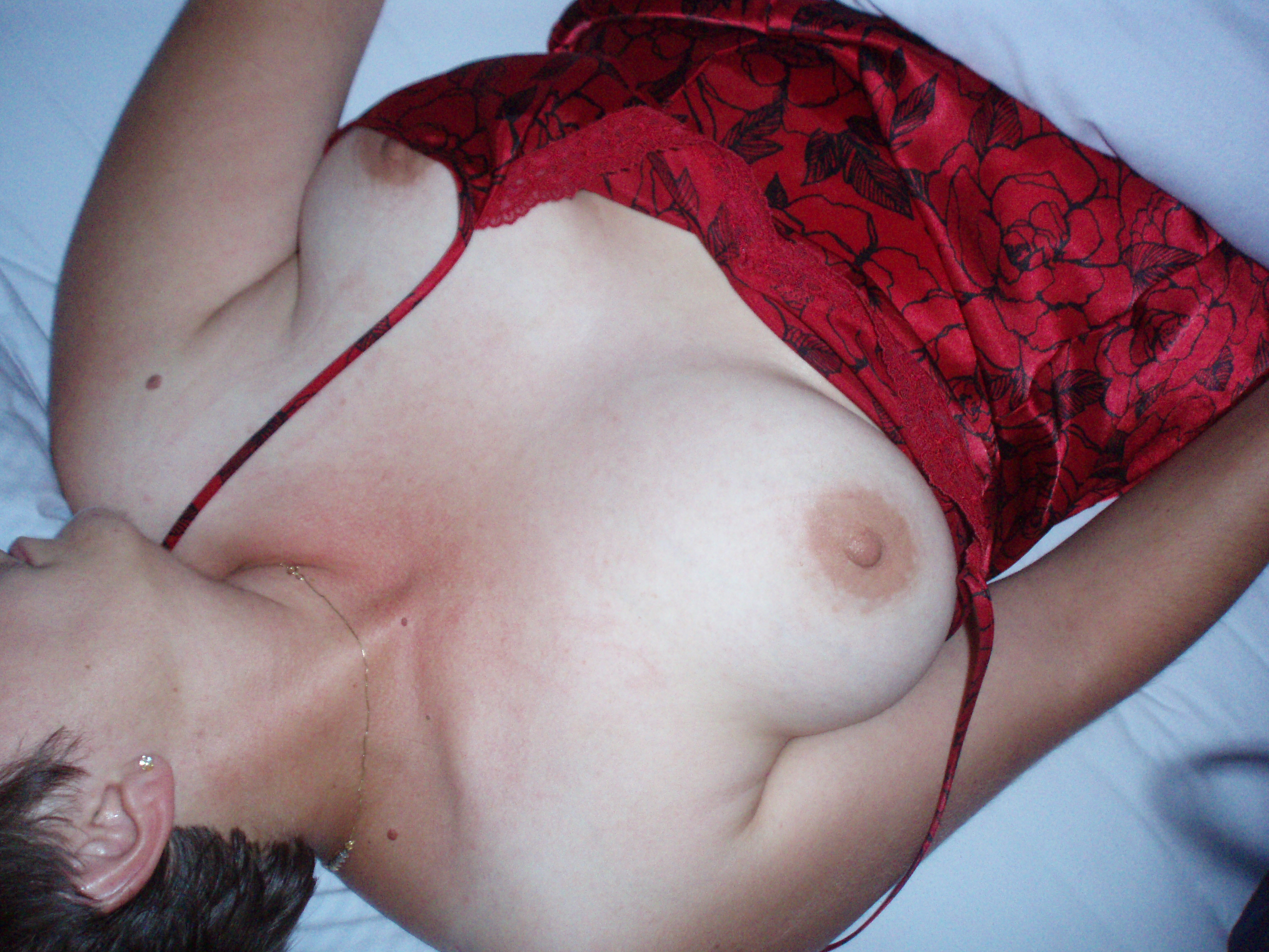 Why does my wife show her tits