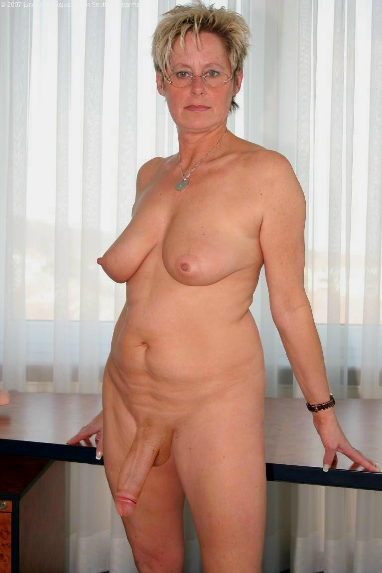 Mature with huge cock