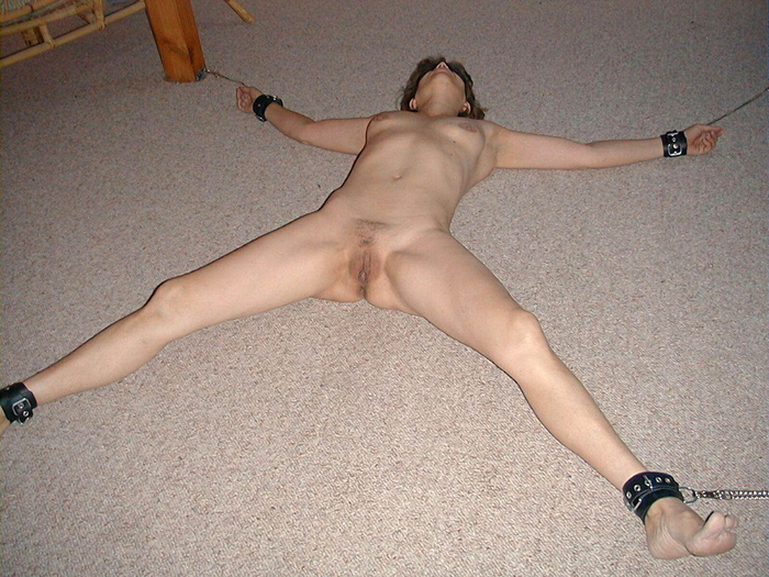 tied spread nude slave amateur