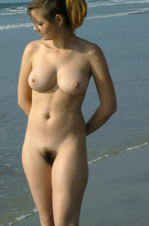 Was and full frontal nude with bushy pussy