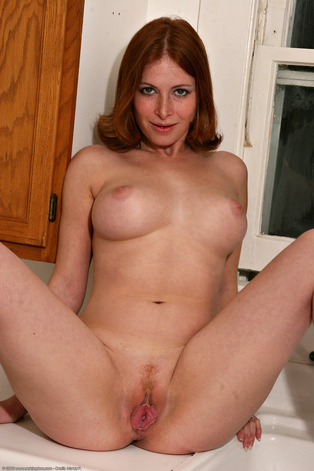 Naked ginger milf