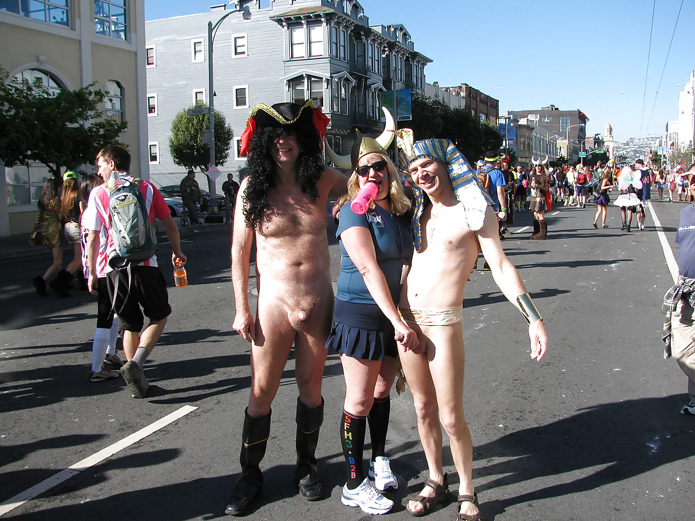 Naked bay to breakers your tube