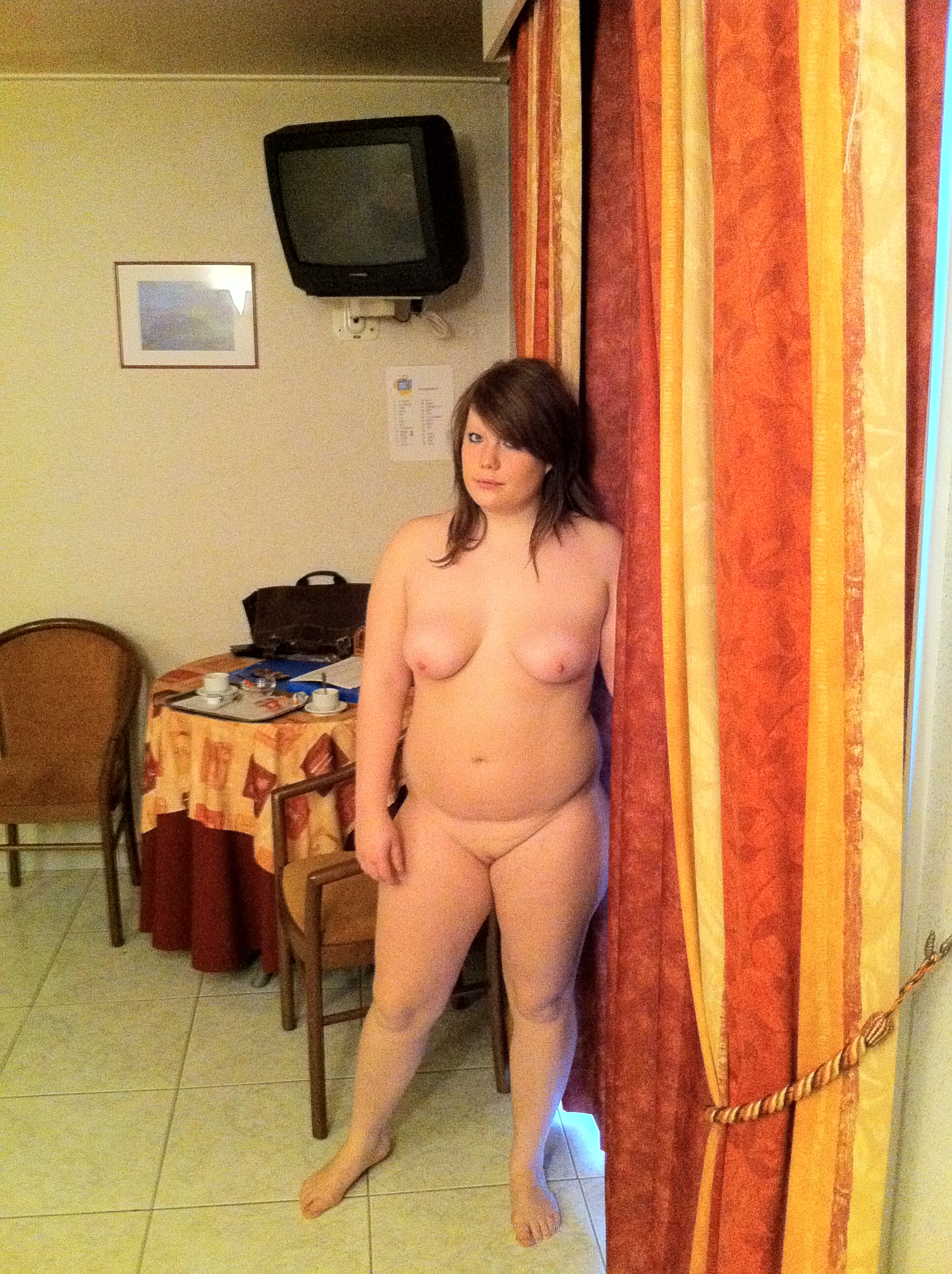 time Amateur posing first