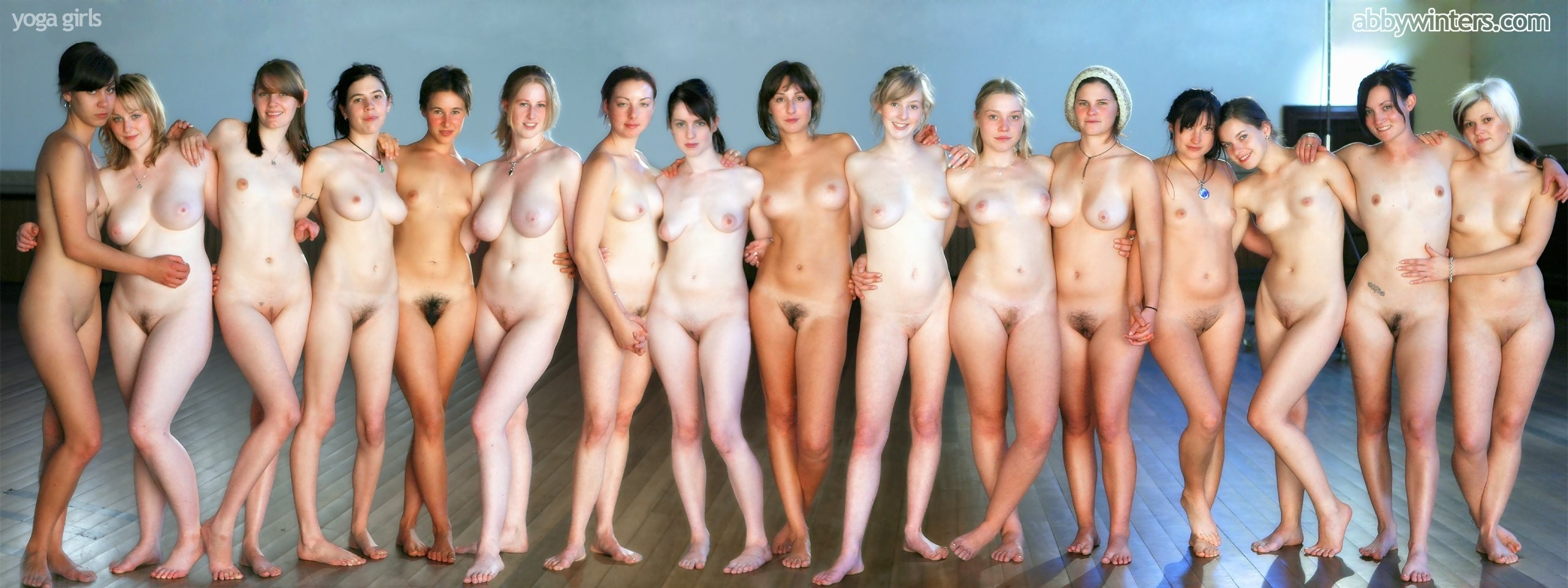 A Naked Lineup