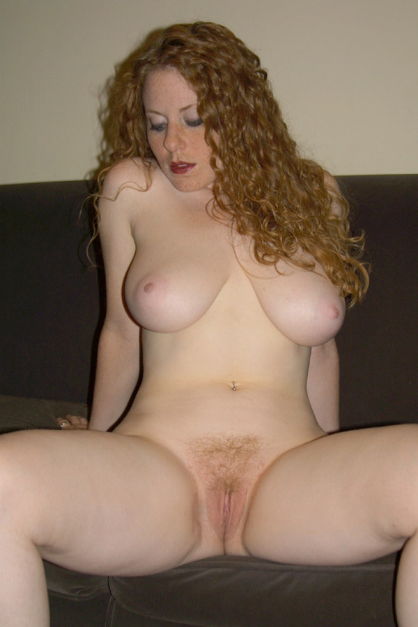 Redhead naked Little