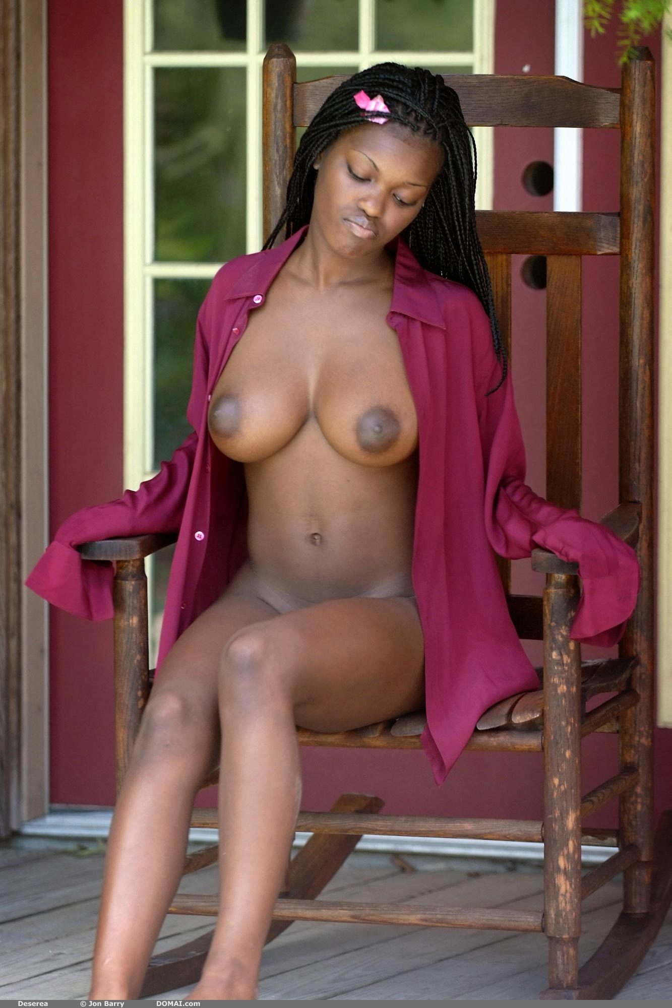 Biggest Naked Black Ass In D World
