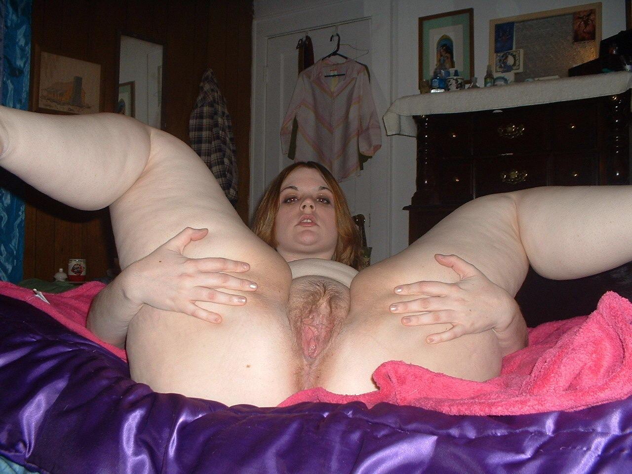 Bbw sexy naked spread eagle pussy think, that