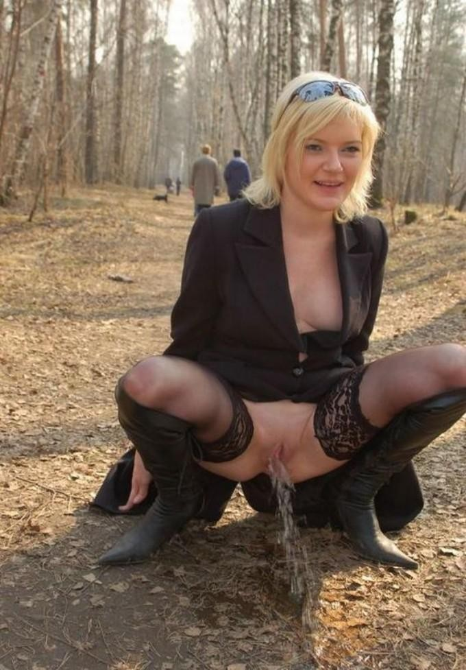 Something also pissing outdoors pics