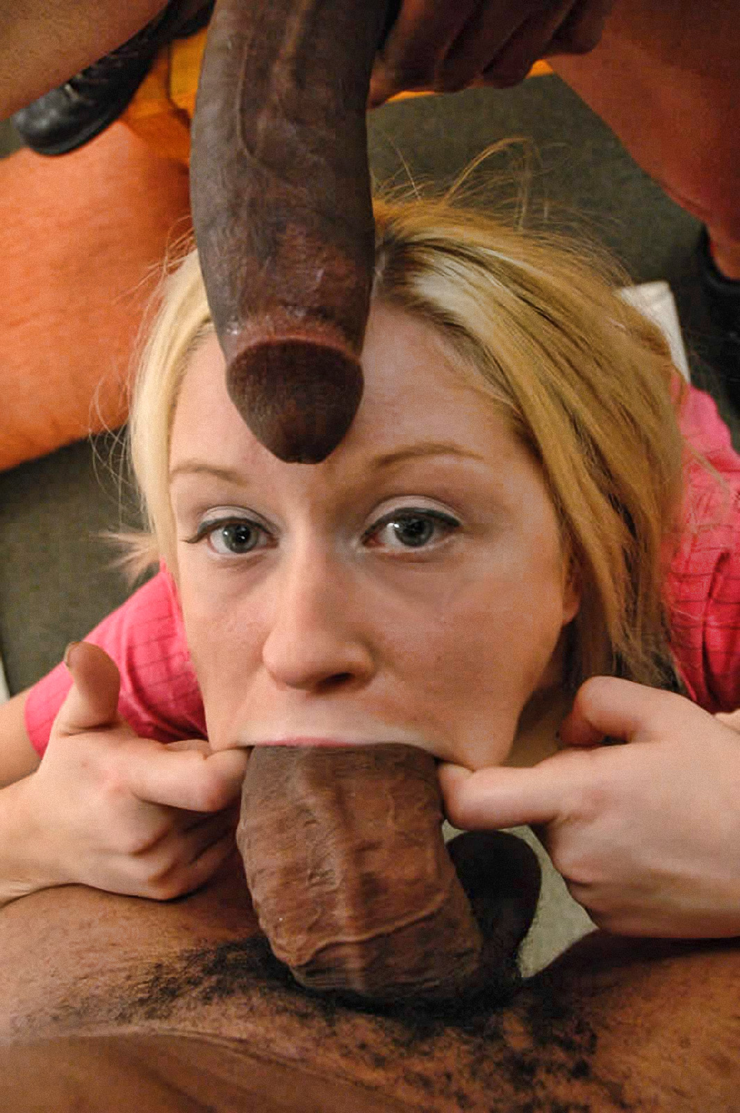Too big for her mouth