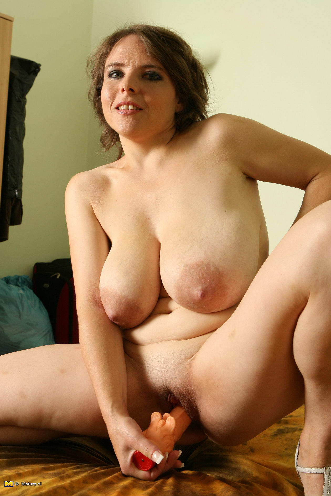 Big areolas naked about still
