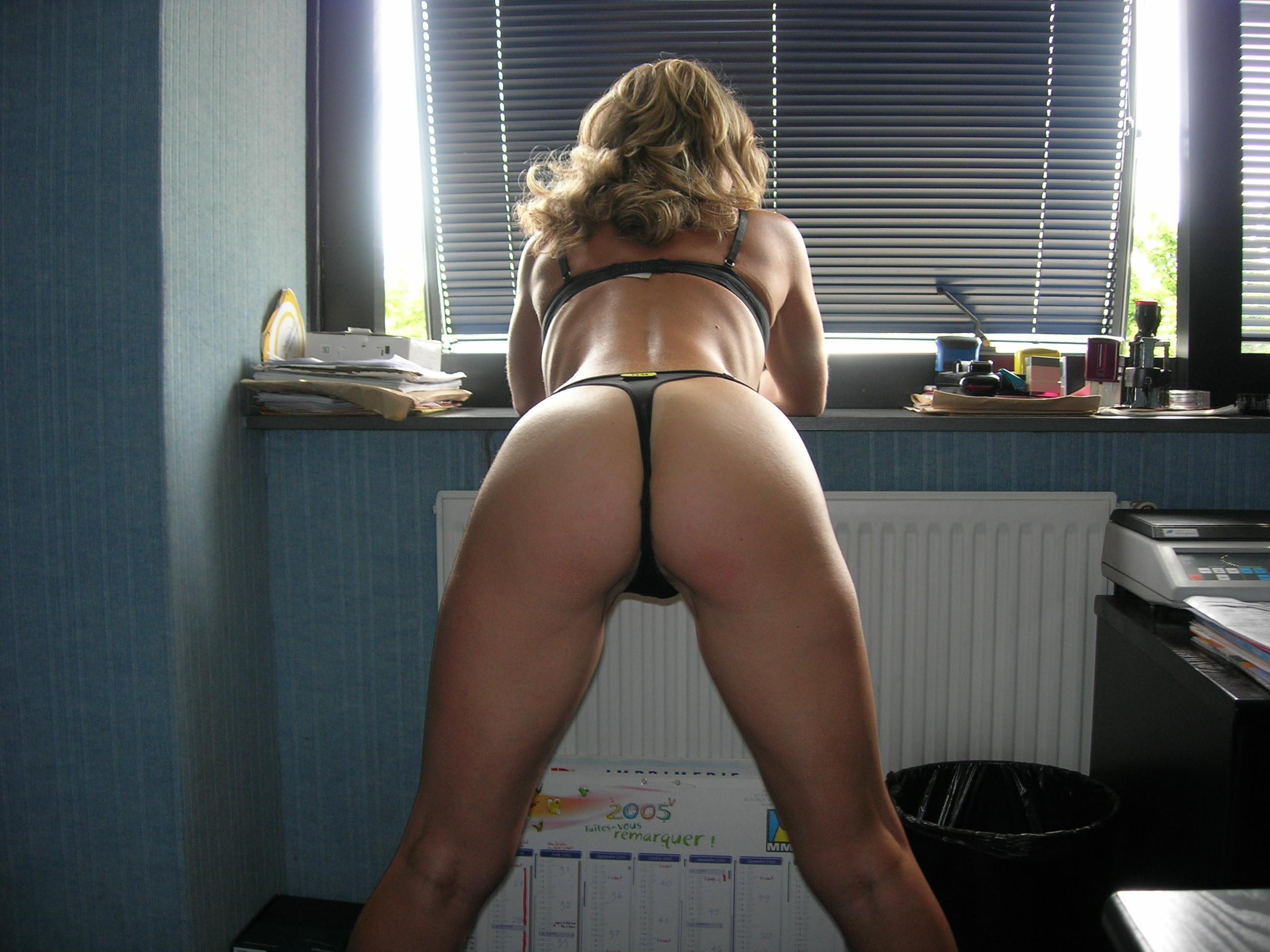 Office sexy milf amateur